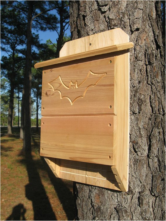 large 3 chamber bat house by natures