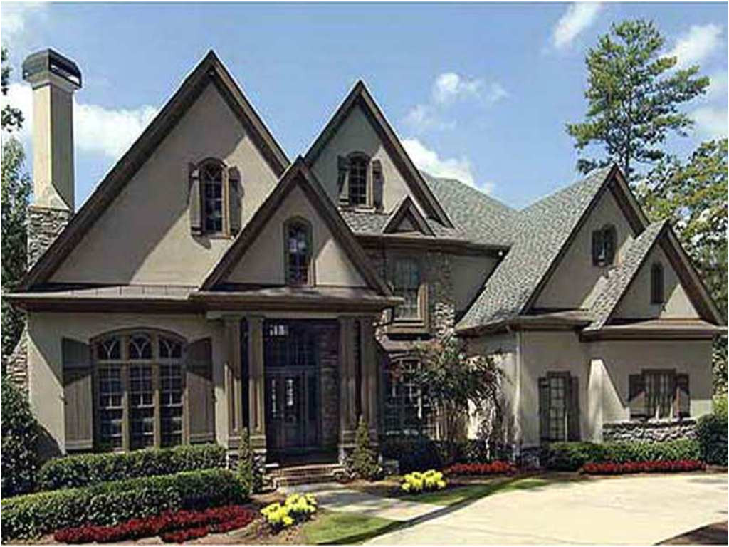 best one story french country house plans classic design