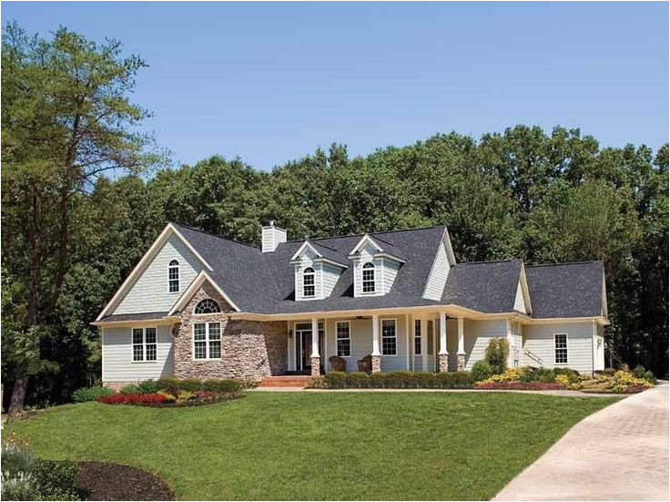large country cottage house plans