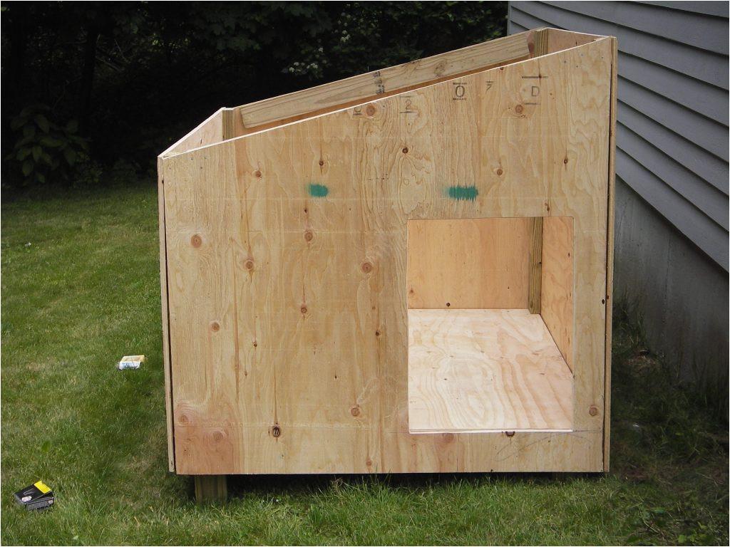 how to build a large dog house plans elegant easy diy dog house plans crafts pinterest