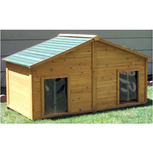 large dog house plans free