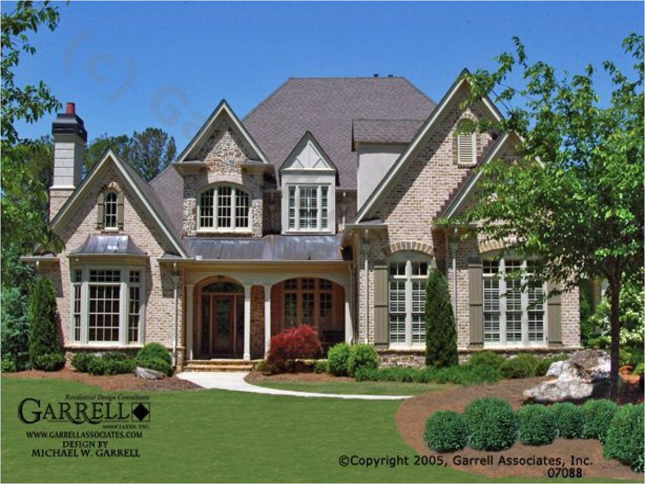 country french house plans