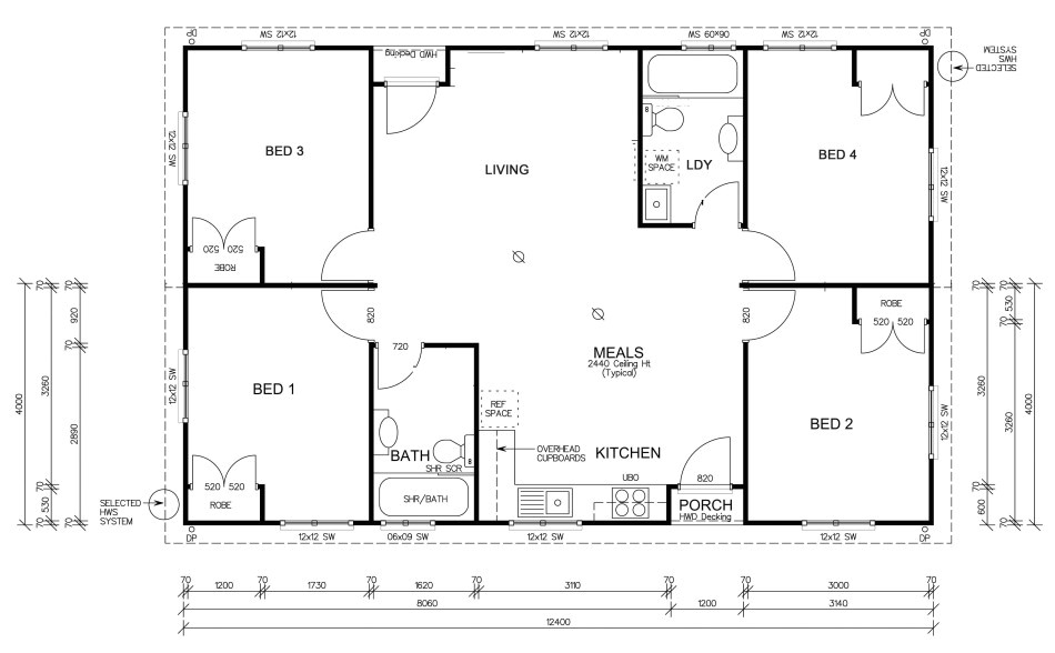 large modular home floor plans