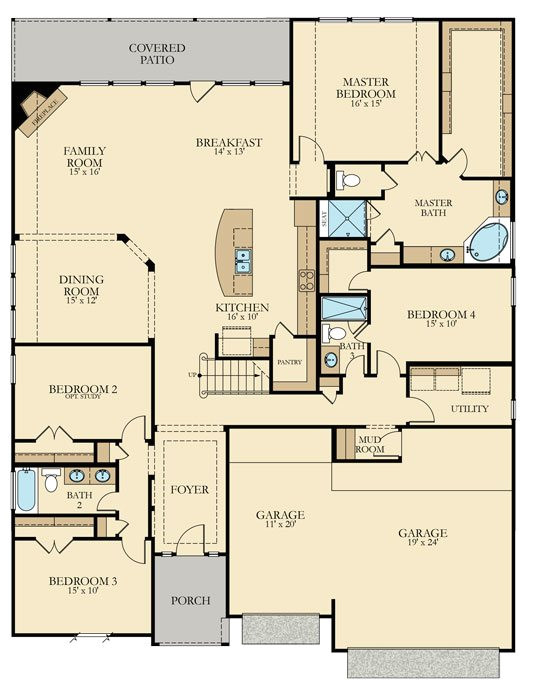 lennar home floor plans texas