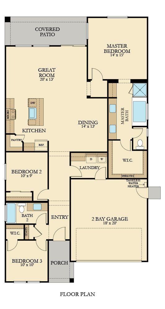 lennar floorplans single story