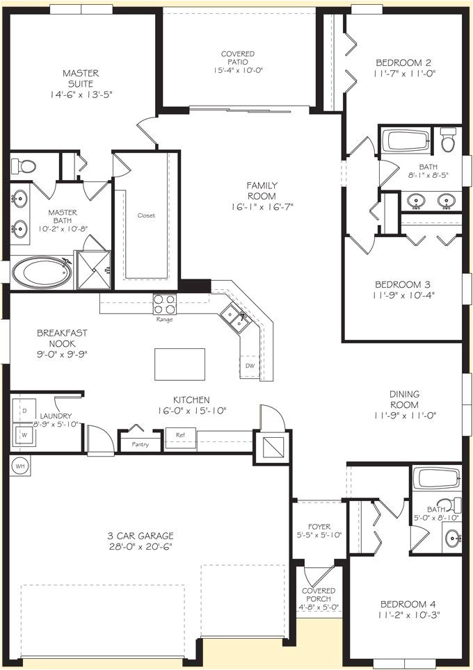 lennar homes floor plans
