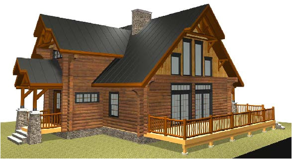 lincoln logs homes plans