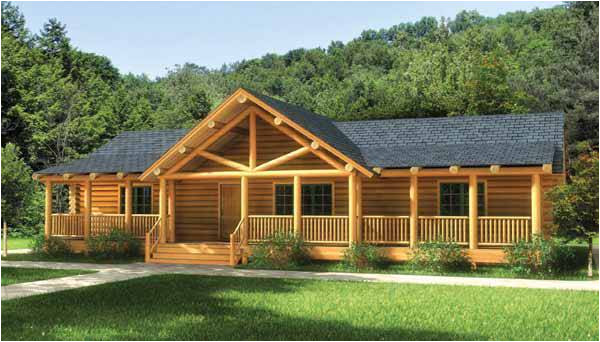 swan valley log home plan