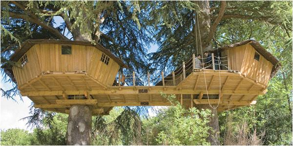 fancy treehouses