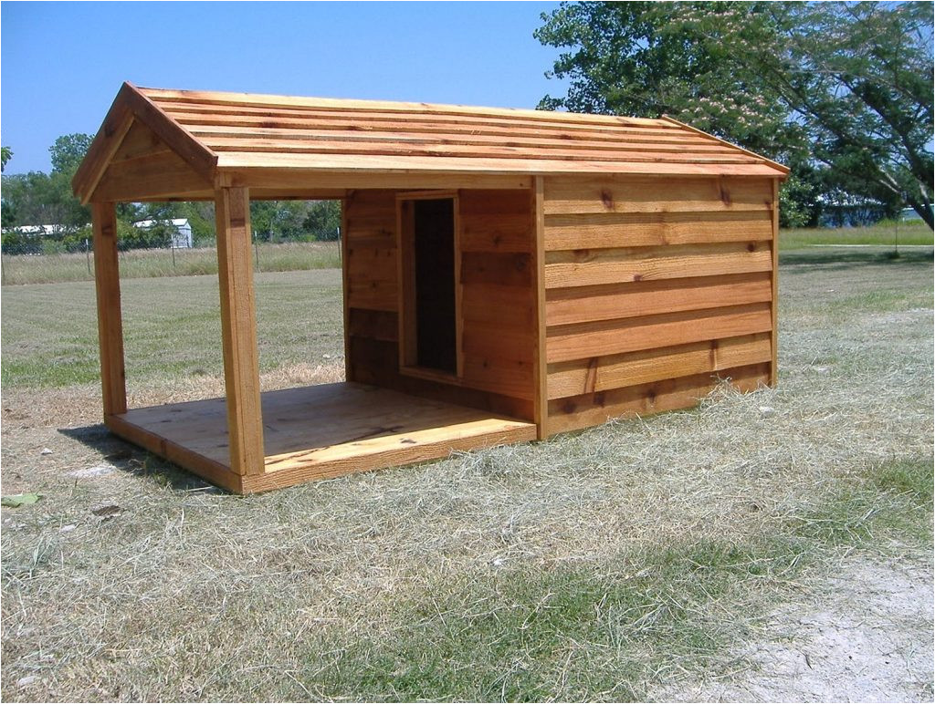 plans for dog house with porch