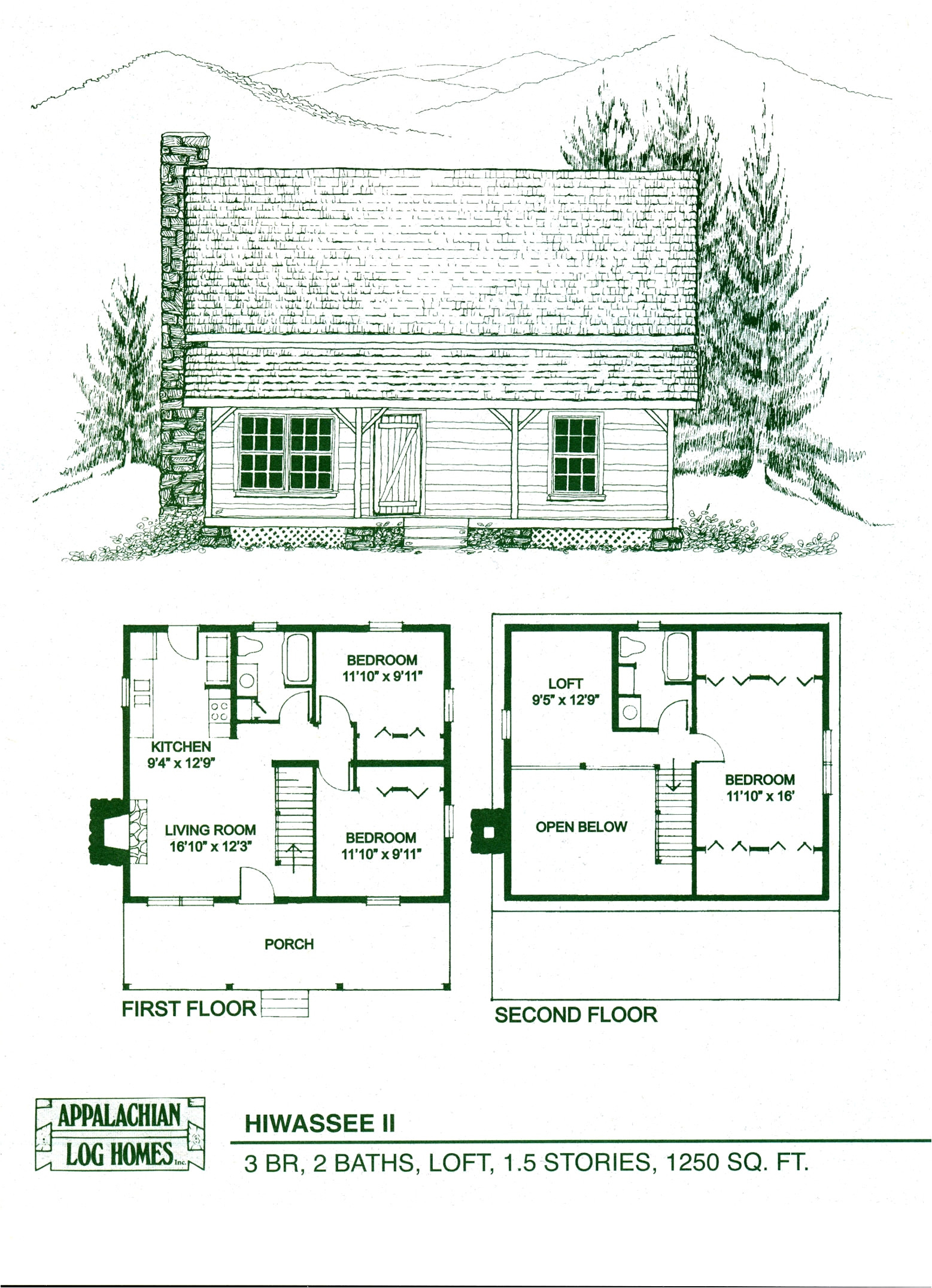 cabin floor plans with loft lovely log home floor plans log cabin kits appalachian log homes