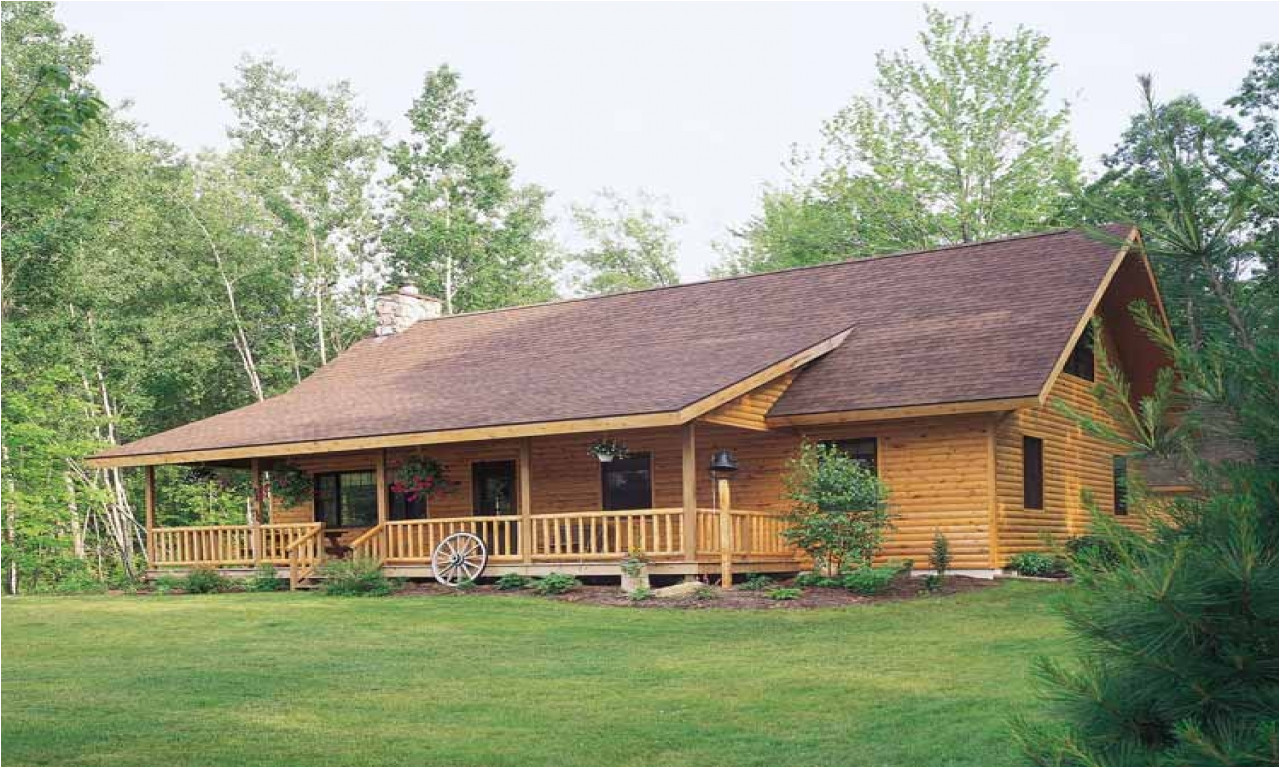 8ceb2efbb2a71497 log style house plans ranch log cabin plans