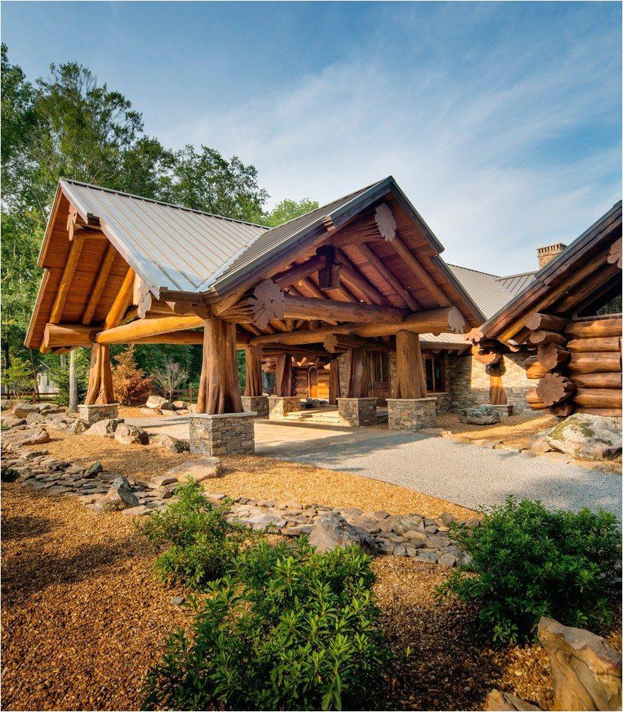 log cabin plans canada
