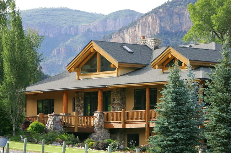luxury mountain log home plans clinetop