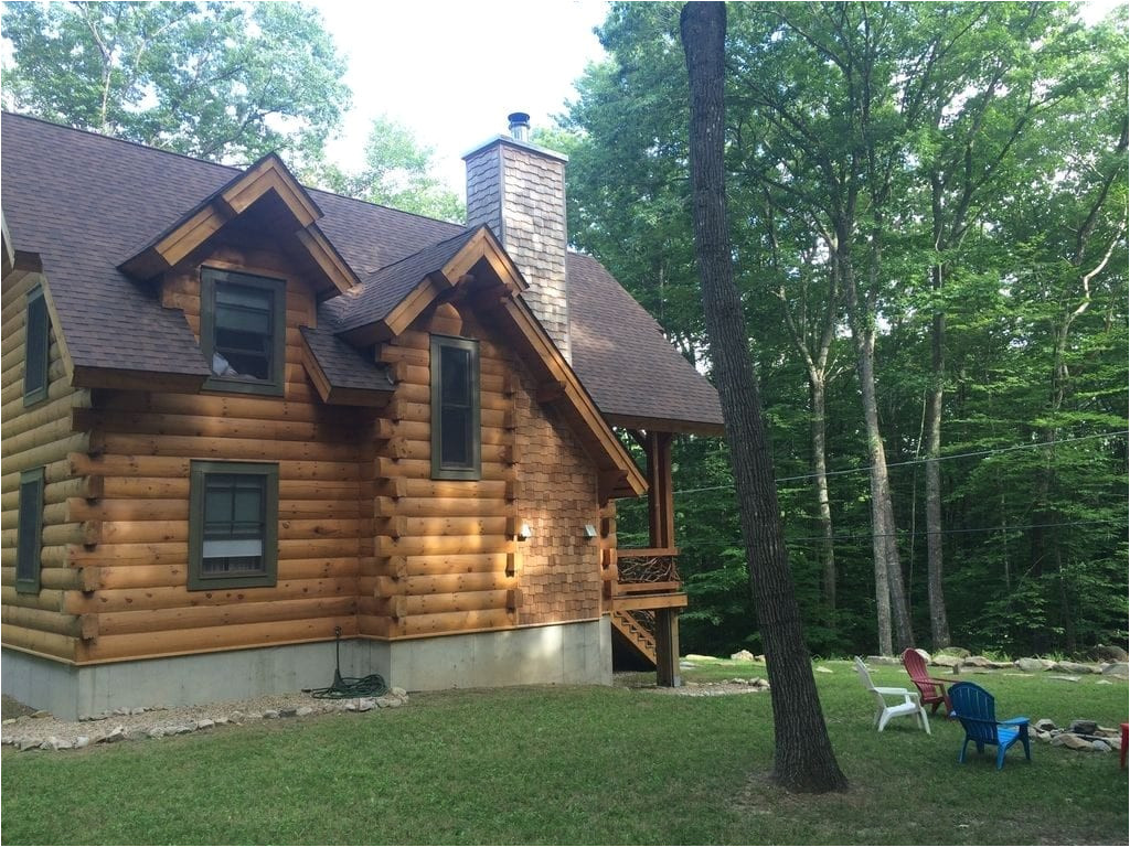 log cabin maine inspirational maine log cabin a perfect blend of woods homeaway acton