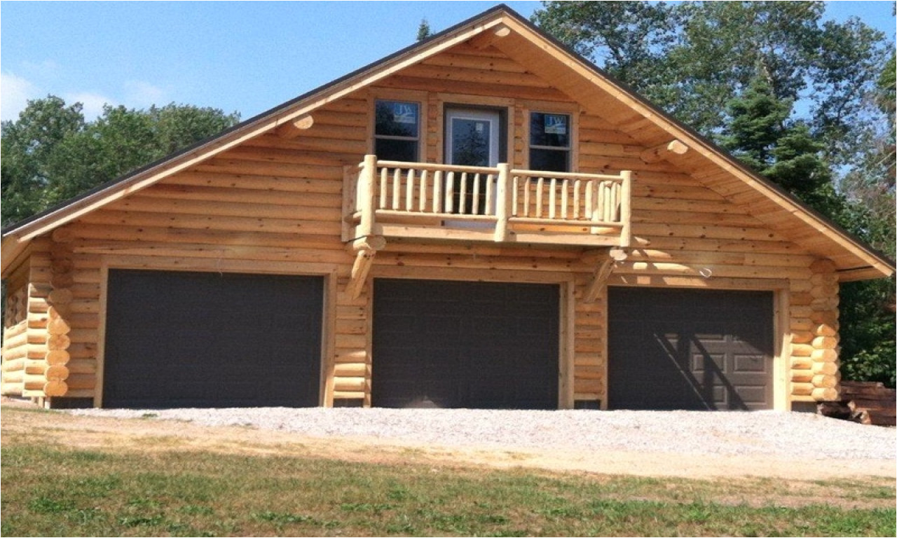 770d7d8cb5f10935 log garage with apartment plans log cabin garage kits
