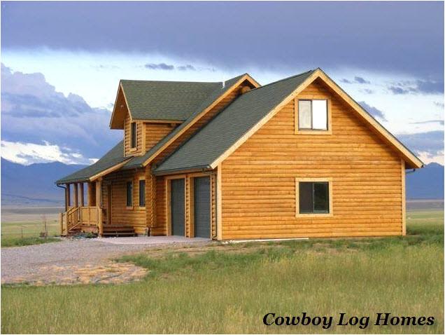 nevada city log home plans 2840 square feet