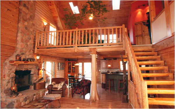 Log Home Plans with Loft Log Floor Plans House Plans and More