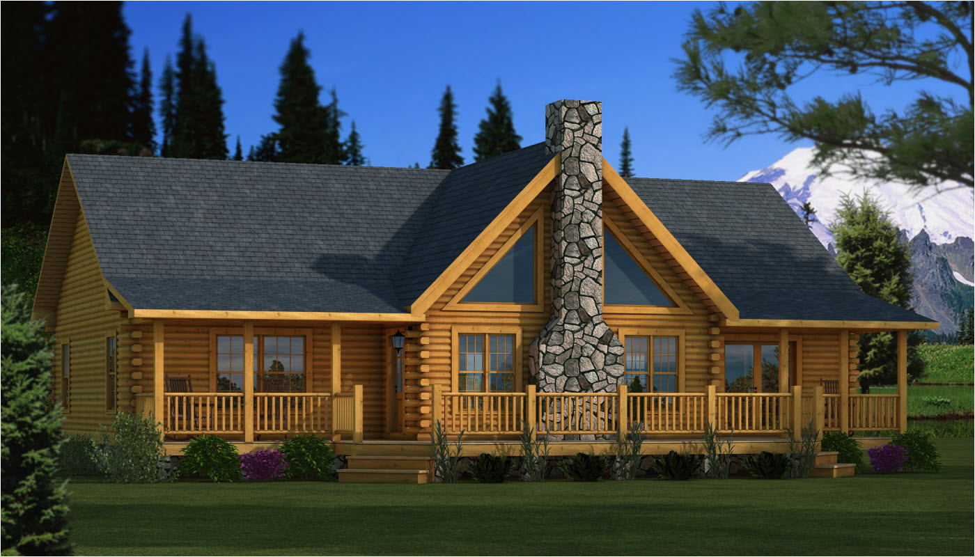 Log Home Plans with Pictures Adair Plans Information southland Log Homes