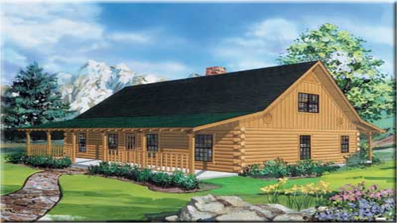 9f8c6cf37bba0990 ranch style log home floor plans ranch log cabin homes
