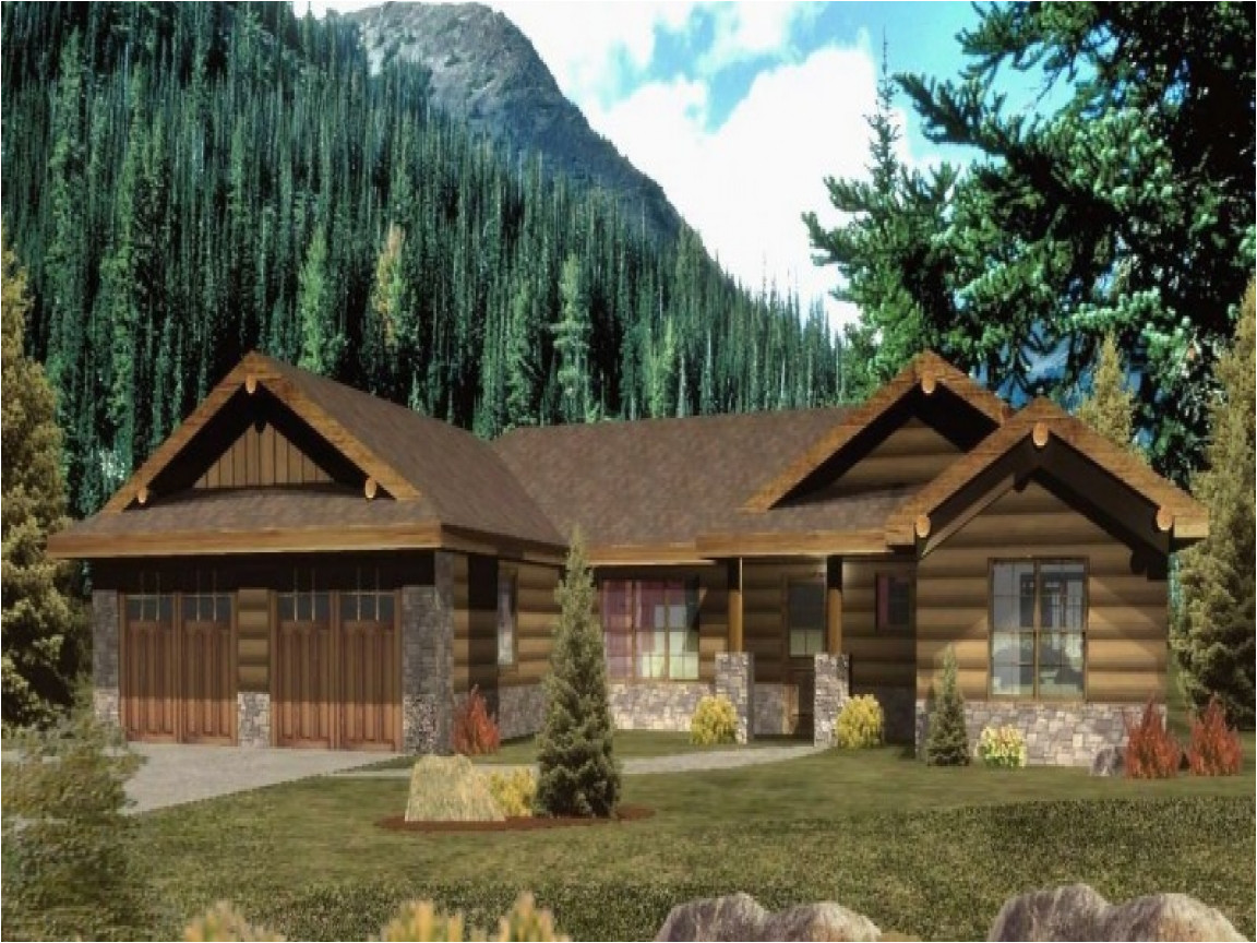 Log Home Ranch Floor Plans Ranch Style Log Home Plans Ranch Floor Plans Log Homes