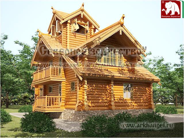 unusual log house designs