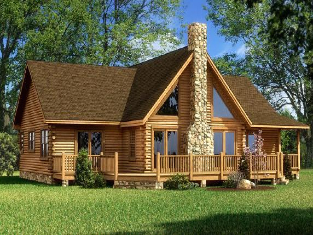 small log cabin kits ohio