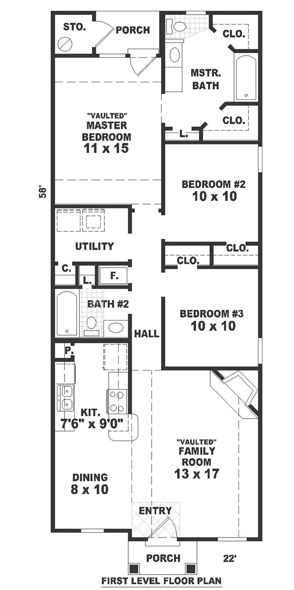 home plan 7596