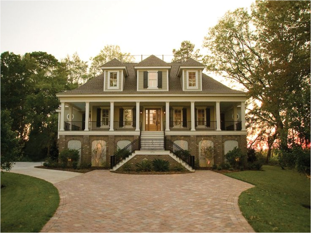 Low Country Bungalow House Plans Raised Low Country House Plans Low Country Cottage Plans