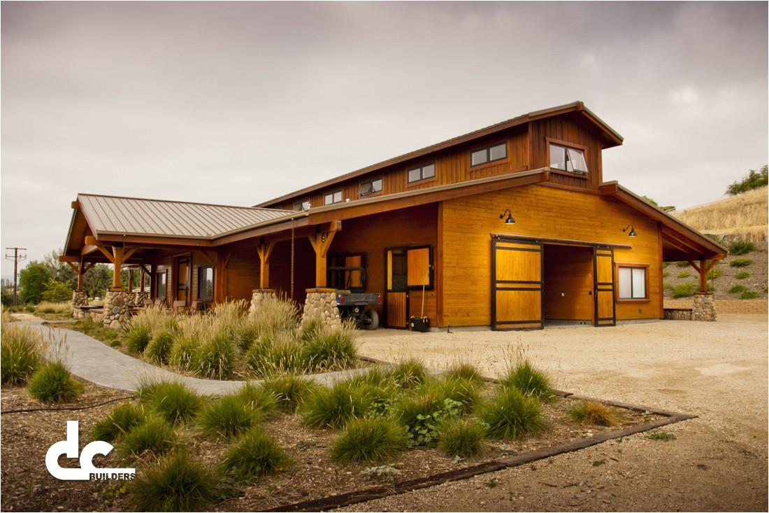horse barn house plans