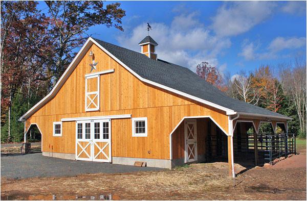 luxury home barns kits