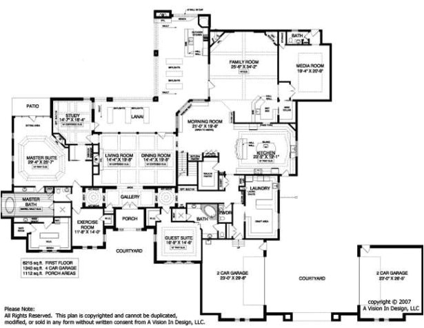 popular luxury mansion floor plans with home plan 134 1355 for luxury luxury estate home floor plans