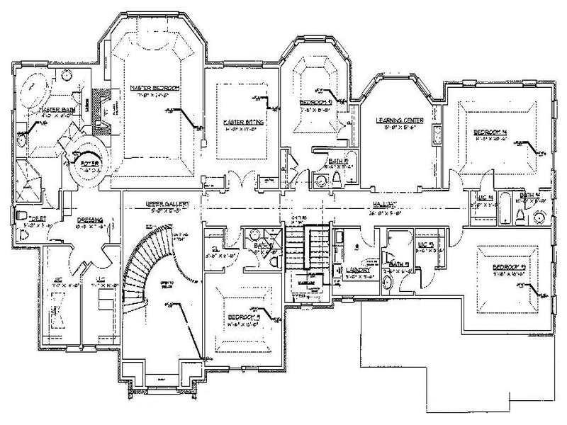 modern luxury home floor plans