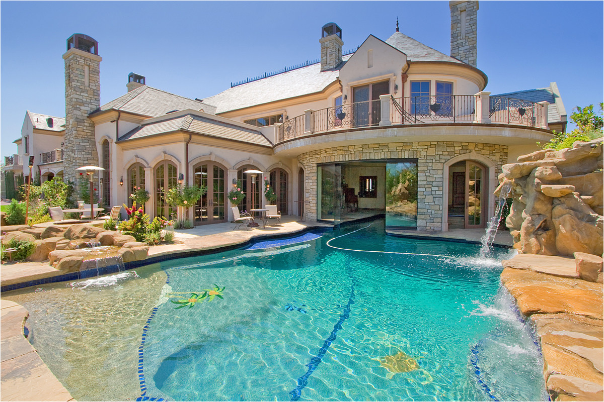 extraordinary mansions with pools for spacious and luxury house