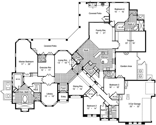 Luxury Homes Plans Floor Plans House Plans for You Plans Image Design and About House