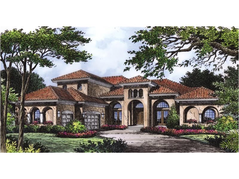 luxury mediterranean style house plans