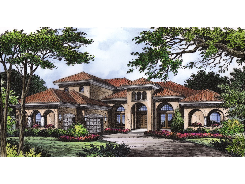 luxury mediterranean style house plans