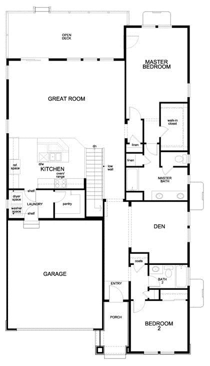 floor plans for patio homes