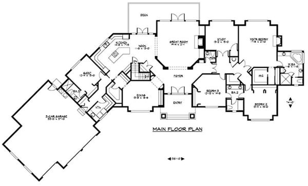 amazing luxury ranch home plans 3 luxury ranch house floor plans