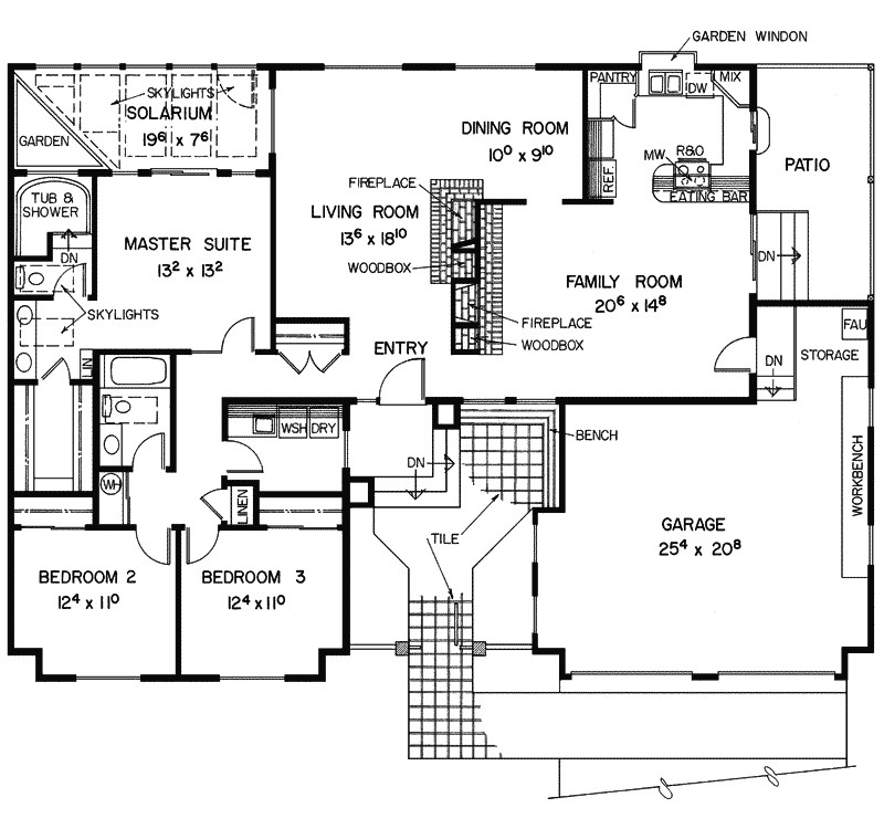luxury ranch home plans