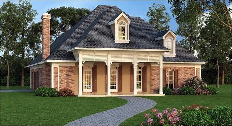 small luxury house plan
