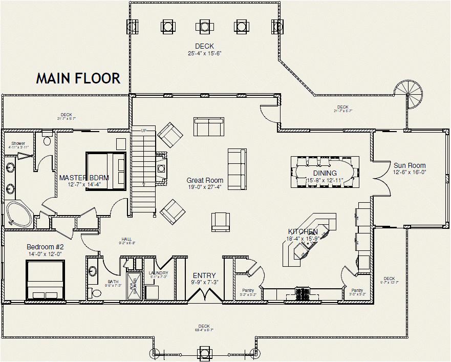 Main Floor Master Home Plans 11 Stunning House Plans Master On Main House Plans 70841