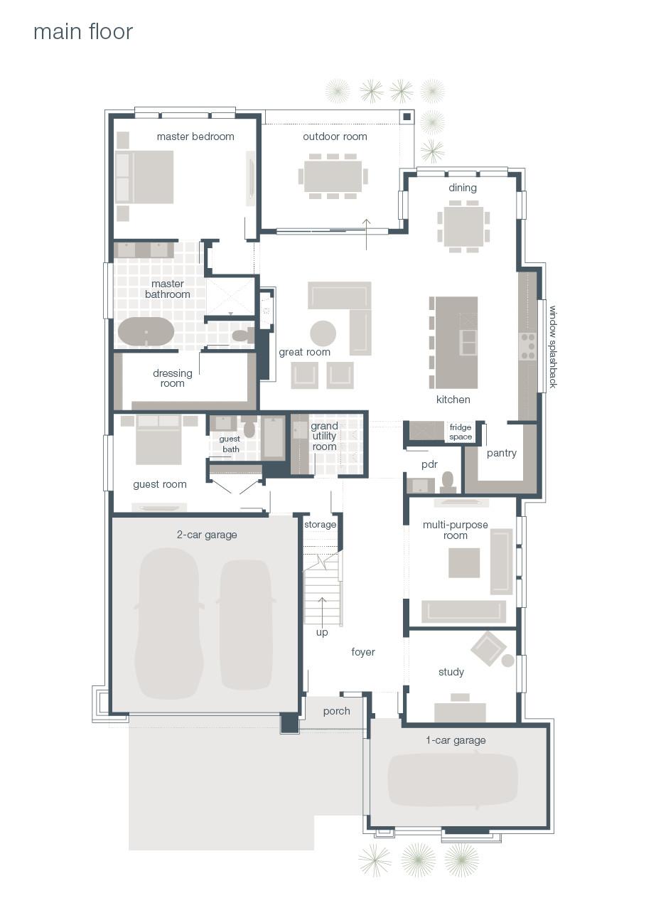 mainvue homes floor plans