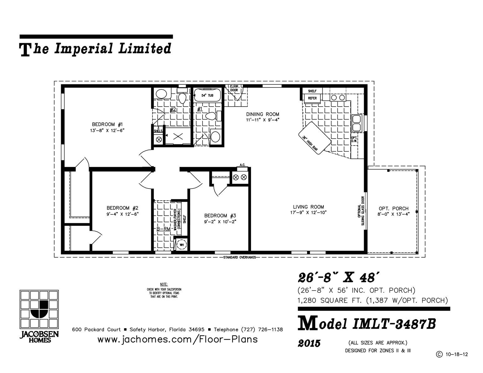 imlt 3487b mobile home floor plan