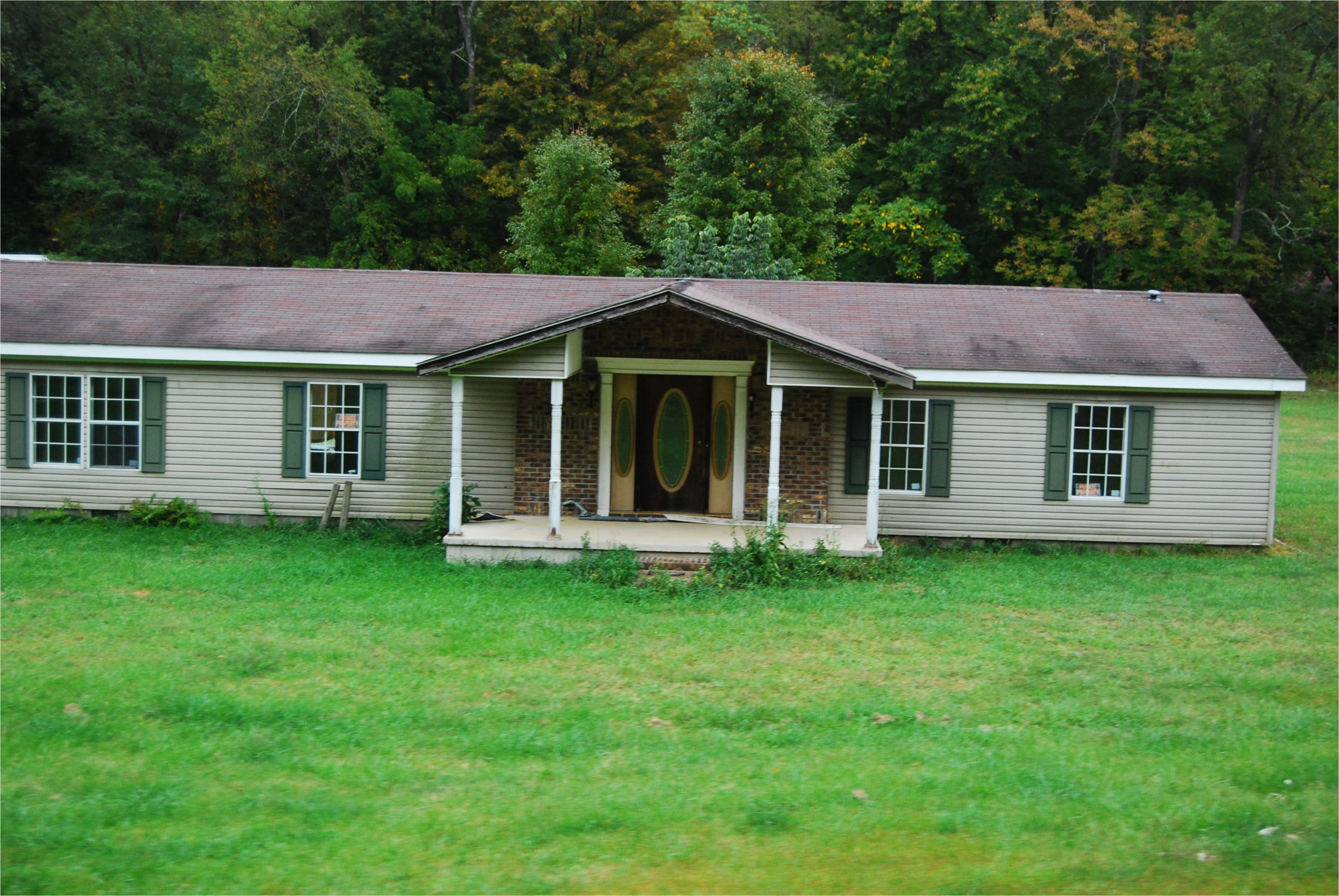 6606 mobile home front porch pictures