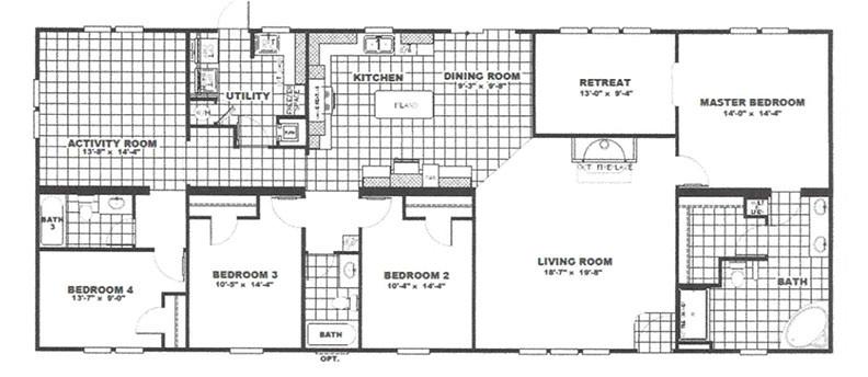 4 bedroom 3 bath 33 32 x 78 2