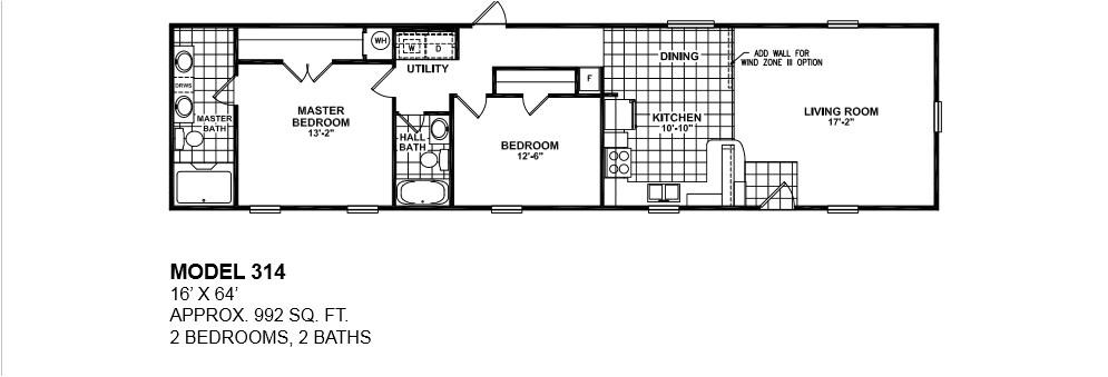 3 bedroom 2 bath mobile homes for sale