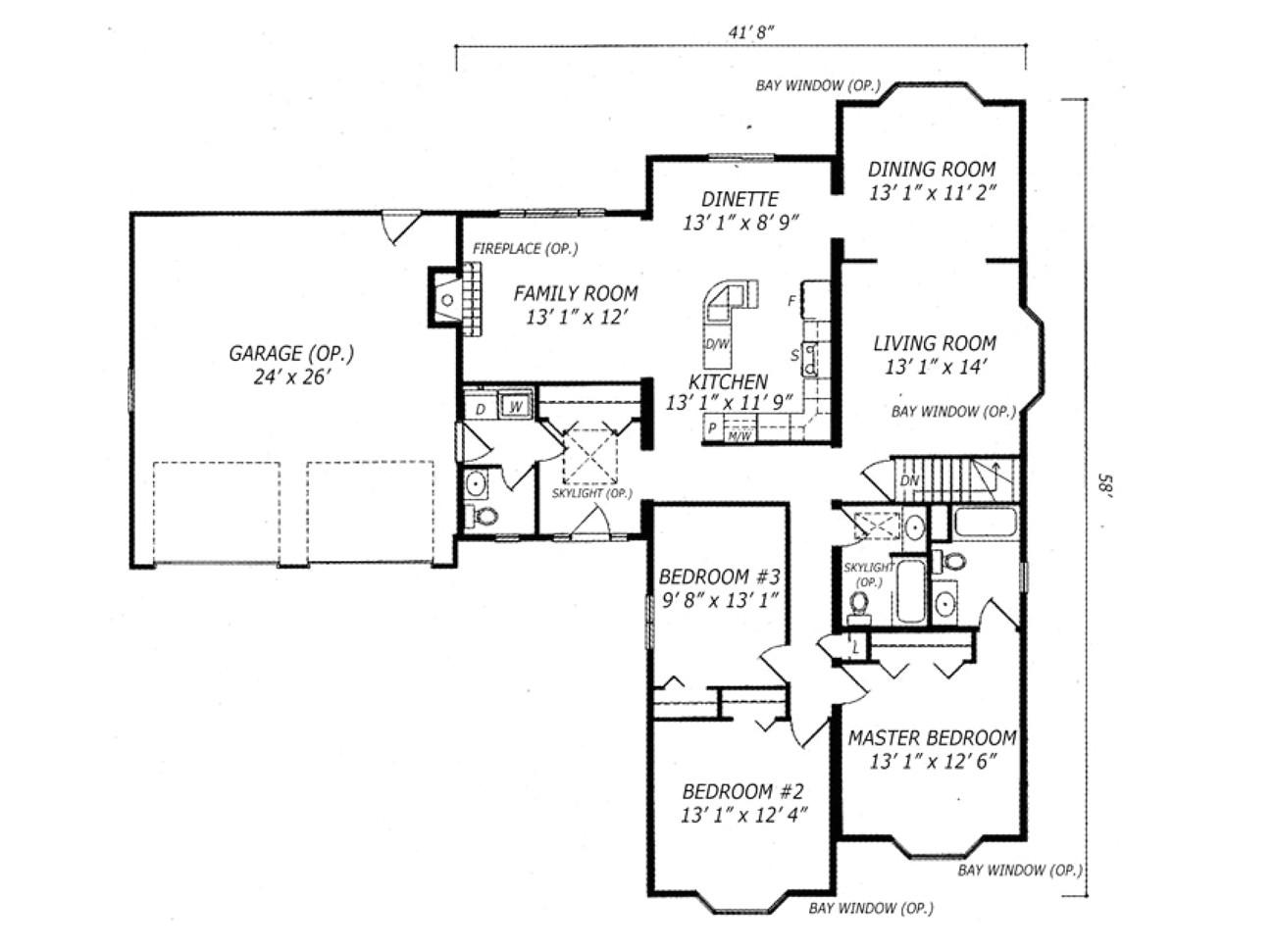 carleton floor plans