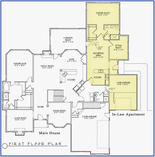 34607 first floor master bedroom addition plans
