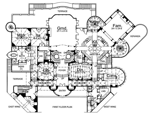 medieval castle floor plans